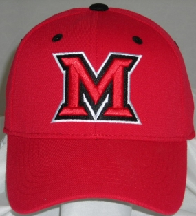 Miami (OH) Redhawks Team Color One Fit Hat