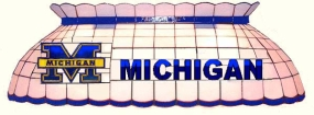 Michigan Wolverines Pool Table Light