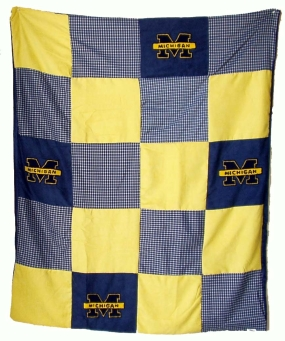 Michigan Wolverines Quilt