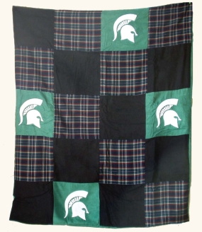 Michigan State Spartans Quilt