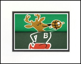 Milwaukee Bucks Vintage T-Shirt Sports Art