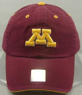 Minnesota Golden Gophers Adjustable Crew Hat