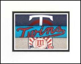 Minnesota Twins Vintage T-Shirt Sports Art