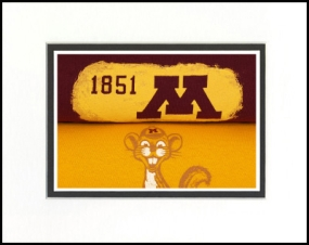 Minnesota Golden Gophers Vintage T-Shirt Sports Art