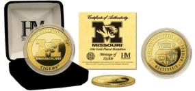 University of Missouri 24KT Gold Coin