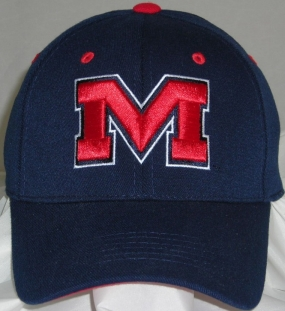 Mississippi Rebels Team Color One Fit Hat