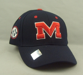 Mississippi Rebels Adjustable Hat