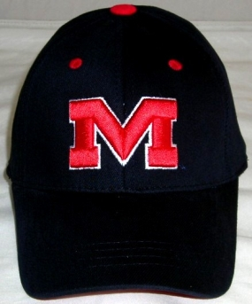 Mississippi Rebels Youth Team Color One Fit Hat