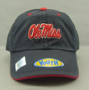 Mississippi Rebels Youth Crew Adjustable Hat
