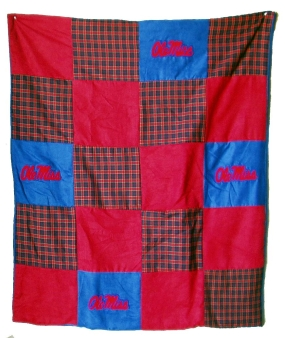 Mississippi Rebels Quilt