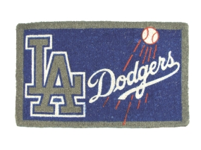 Los Angeles Dodgers Welcome Mat