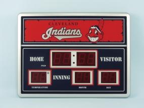 Cleveland Indians Scoreboard Clock