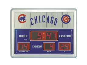 Chicago Cubs Scoreboard Clock
