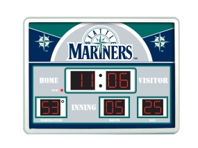 Seattle Mariners Scoreboard Clock