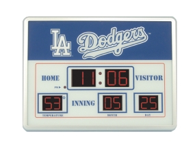 Los Angeles Dodgers Scoreboard Clock