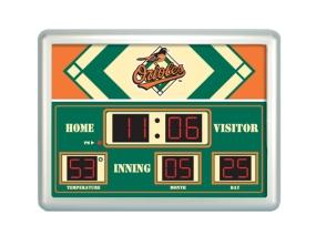 Baltimore Orioles Scoreboard Clock