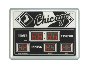 Chicago White Sox Scoreboard Clock
