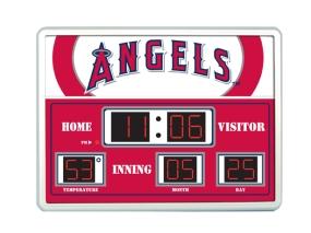 Anaheim Angels Scoreboard Clock
