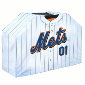 New York Mets Jersey Grill Cover