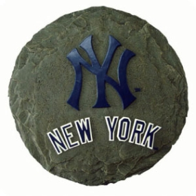 New York Yankees Garden Stone