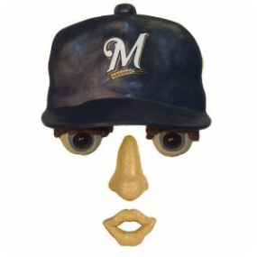 Milwaukee Brewers Forest Face