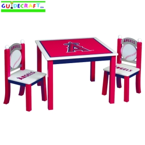Anaheim Angels Youth Table and Chairs