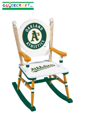 Oakland A's Kid's Rocking Chair