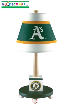 Oakland A's Table Lamp
