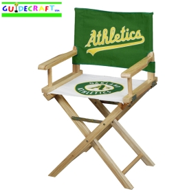 Oakland A's Adult Director's Chair