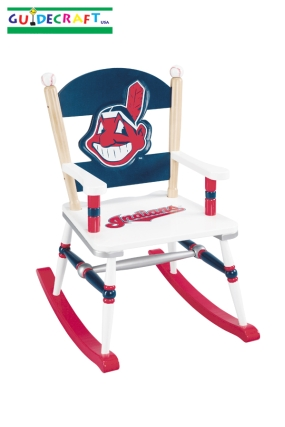 Cleveland Indians Kid's Rocking Chair