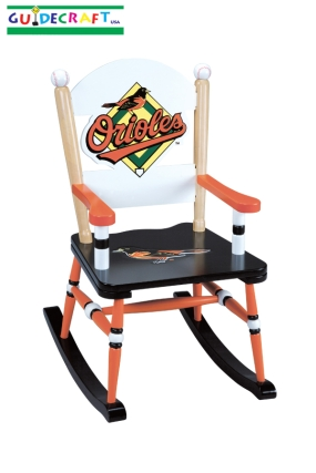 Baltimore Orioles Kid's Rocking Chair