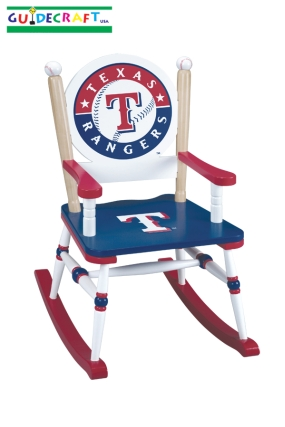 Texas Rangers Kid's Rocking Chair