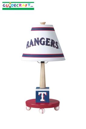 Texas Rangers Table Lamp