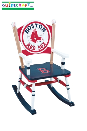 Boston Red Sox Kid's Rocking Chair