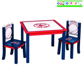 Boston Red Sox Youth Table and Chairs