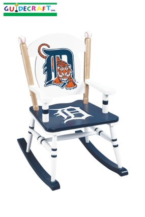 Detroit Tigers Kid's Rocking Chair