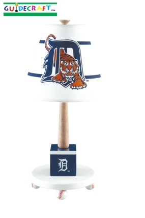 Detroit Tigers Table Lamp