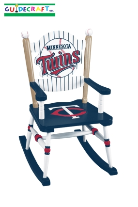 Minnesota Twins Kid's Rocking Chair