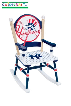 New York Yankees Kid's Rocking Chair