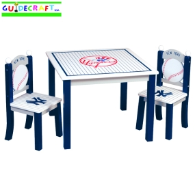 New York Yankees Youth Table and Chairs