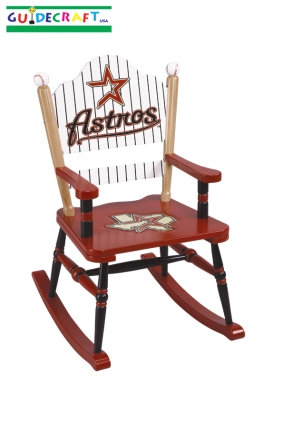 Houston Astros Kid's Rocking Chair