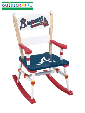 Atlanta Braves Kid's Rocking Chair