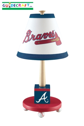 Atlanta Braves Table Lamp