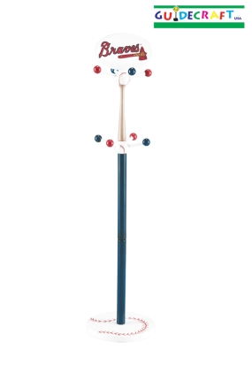Atlanta Braves Clothes Tree