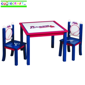 Atlanta Braves Youth Table and Chairs