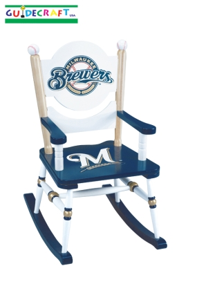 Milwaukee Brewers Kid's Rocking Chair