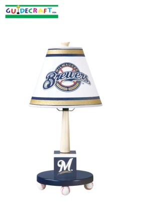 Milwaukee Brewers Table Lamp