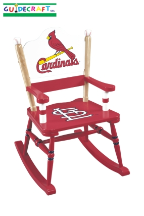 St. Louis Cardinals Kid's Rocking Chair
