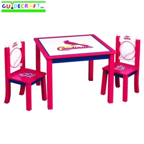 St. Louis Cardinals Youth Table and Chairs