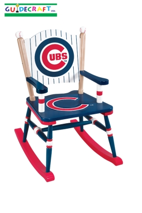 Chicago Cubs Kid's Rocking Chair